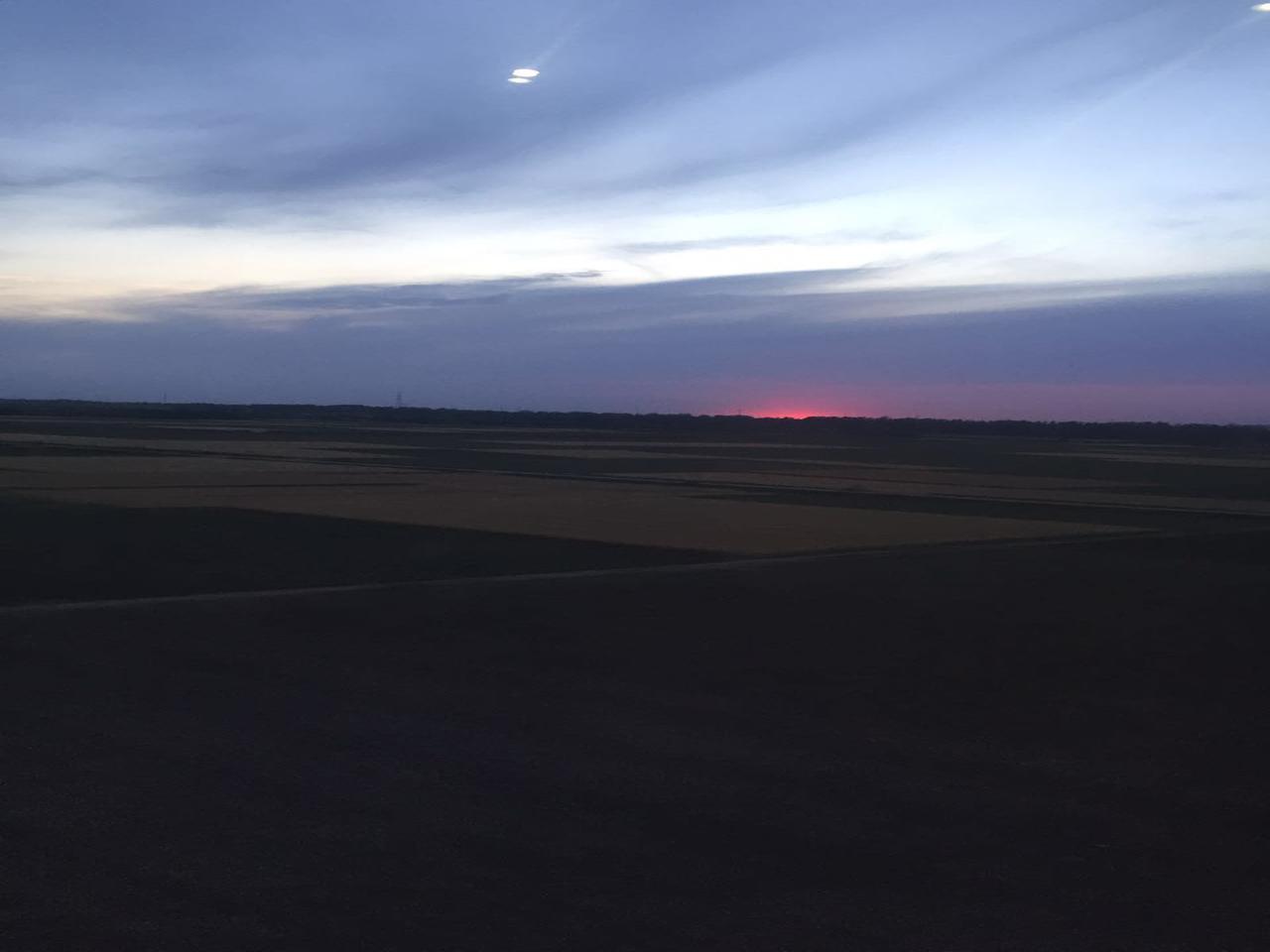 sunsetHighSpeedRail
